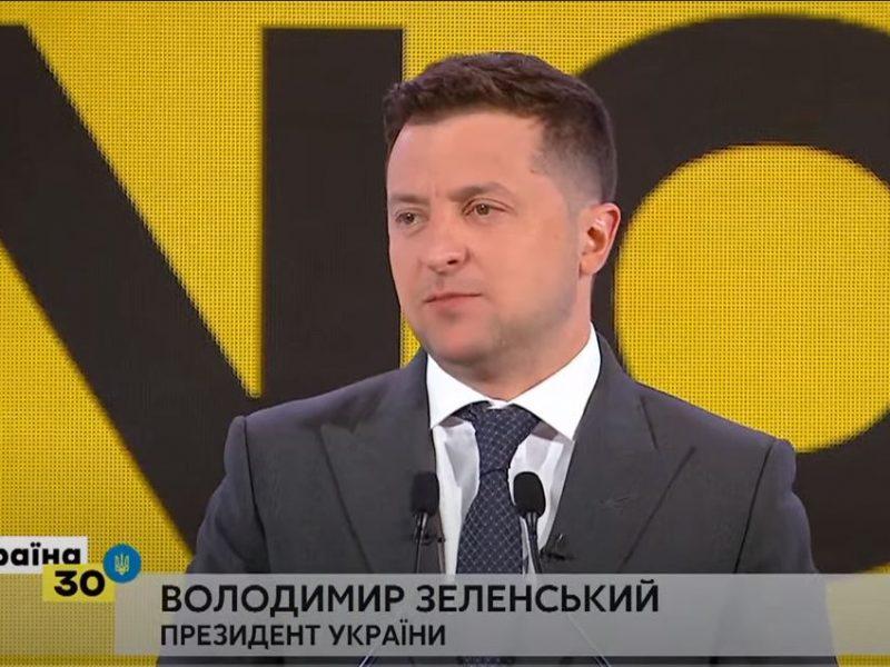 Зеленский не верит в полномасштабную войну с Россией, но заверяет, что Украина в случае вторжения будет бороться до последнего (ВИДЕО)