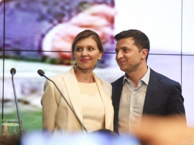 """""""За мужа мне не бывает стыдно, а за президента вообще никогда"""", – первое телеинтервью Елены Зеленской (ВИДЕО)"""