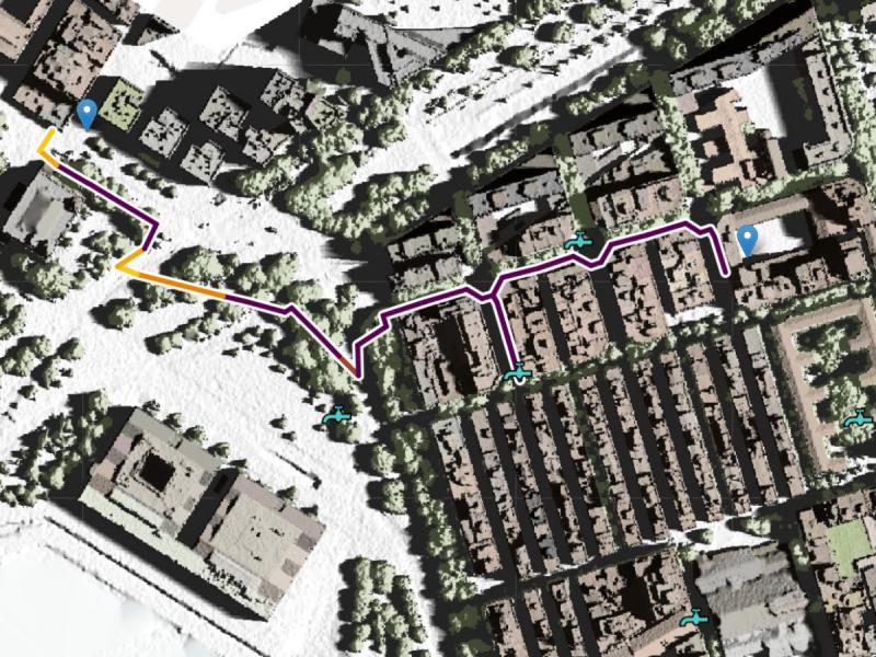 До чего техника дошла: в Барселоне появилось мобильное приложение, которое прокладывает маршрут прогулок исключительно по тенечку