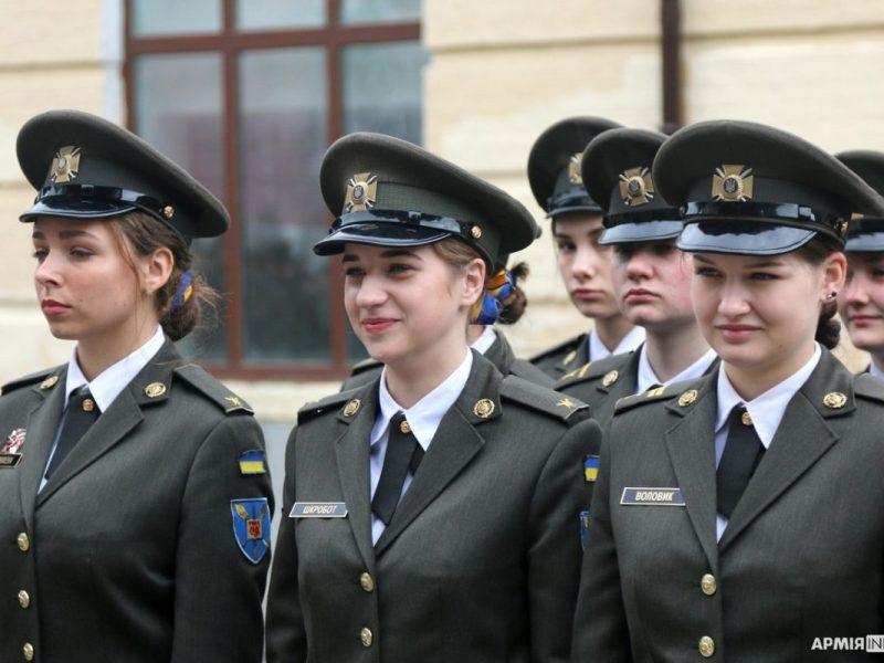 Впервые среди выпускников военного лицея им.И.Богуна – девушки