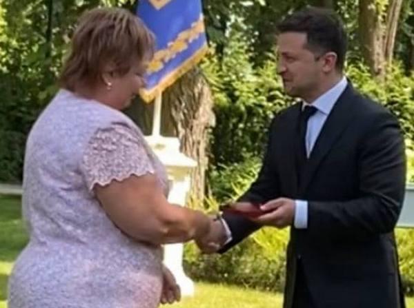 Президент отметил главврача Николаевской горбольницы №5 (ФОТО)