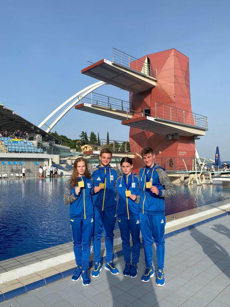 Украинская сборная благодаря николаевским прыгунам в воду взяла «золото» чемпионата Европы (ФОТО, ВИДЕО) 1