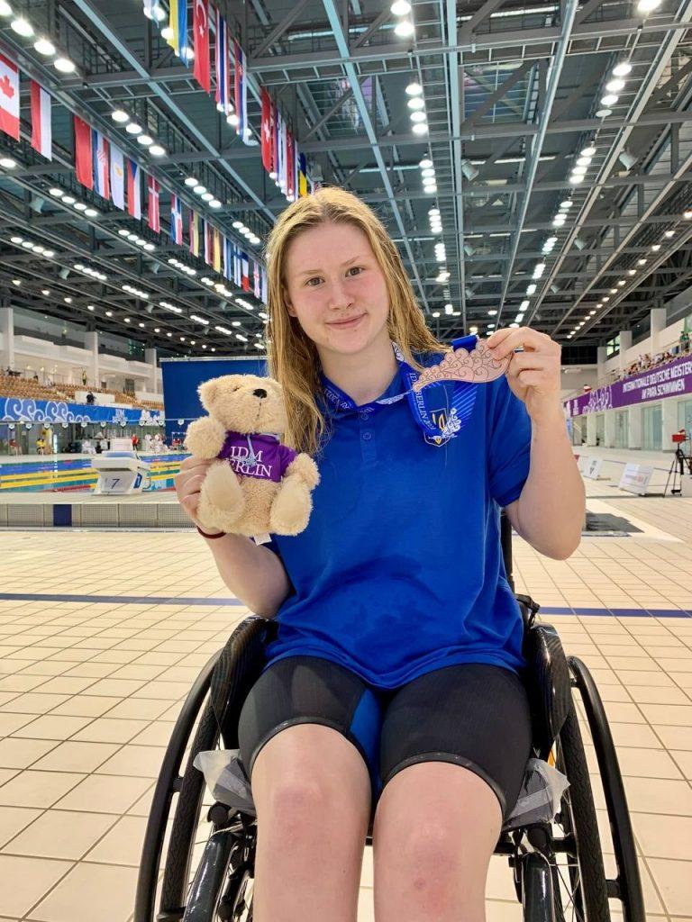 Анна Гонтарь из Николаева завоевала 5 наград международного турнира по плаванию и право выступать на Паралимпийских играх-2021 (ФОТО) 1