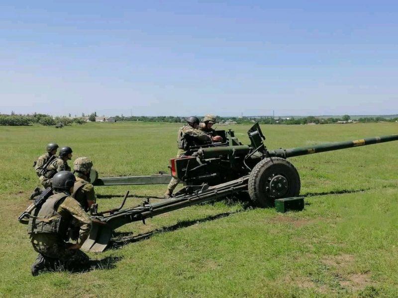Конкурс профессионального мастерства: николаевские артиллеристы были лучшими в трех номинациях (ФОТО)