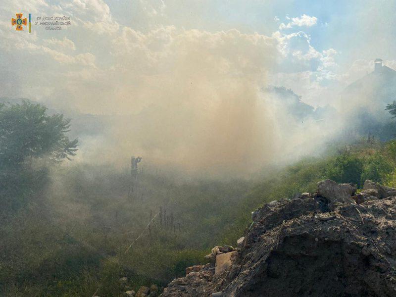 На Николаевщине за сутки потушили 5 пожаров в экосистемах