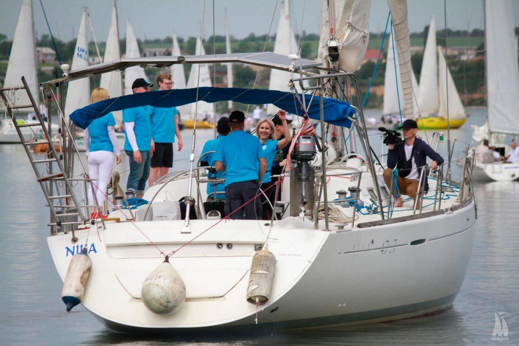 В яхтенной регате Mykolaiv River Cup определены победители. Яхта с мэром Николаева на борту - 4-я в своей группе (ФОТО) 1