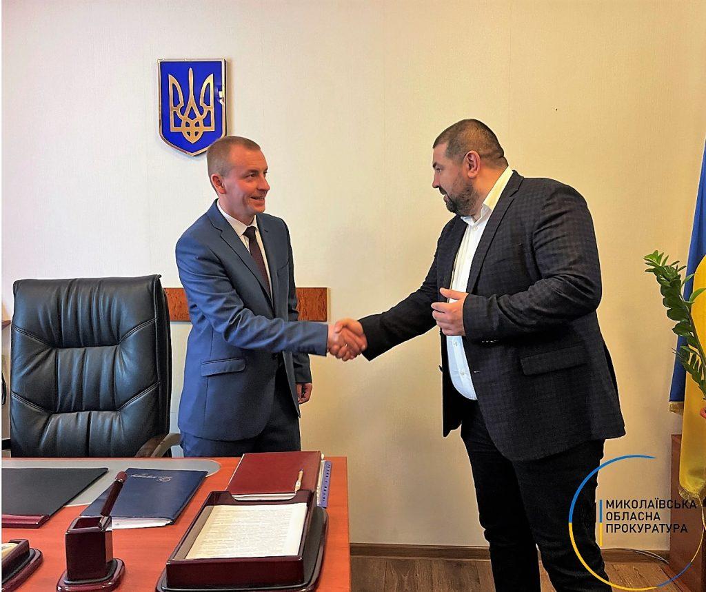 Коллективу Баштанской окружной прокуратуры представили ее руководителя (ФОТО) 1