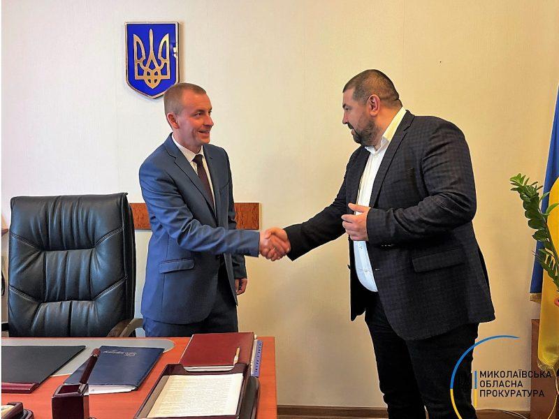 Коллективу Баштанской окружной прокуратуры представили ее руководителя (ФОТО)