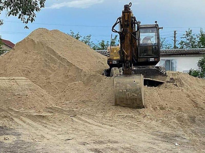 Госэкоинспекция зафиксировала: незаконная добыча песка в Коларово под Николаевом продолжается