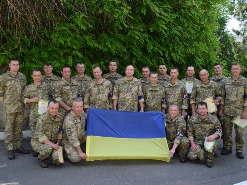В Николаеве завершились двухнедельные сборы резервистов (ФОТО)
