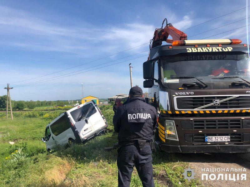 Двое иностранцев пострадали в ДТП на Николаевщине