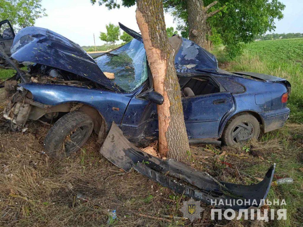 Ночное ДТП на Николаевщине - водитель Honda умер в больнице (ФОТО) 1
