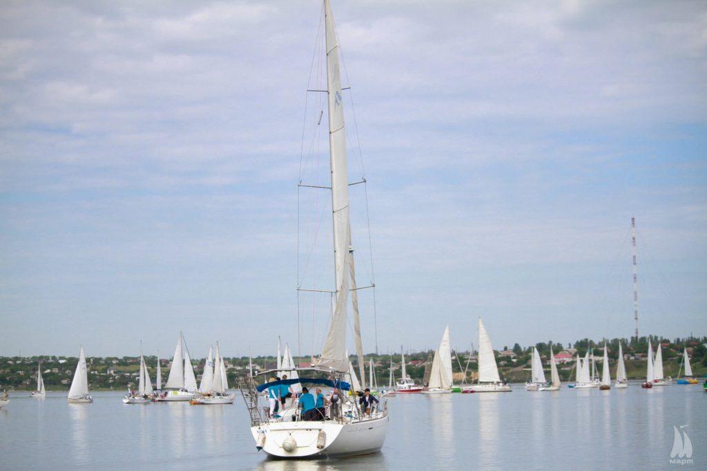 В яхтенной регате Mykolaiv River Cup определены победители. Яхта с мэром Николаева на борту - 4-я в своей группе (ФОТО) 3