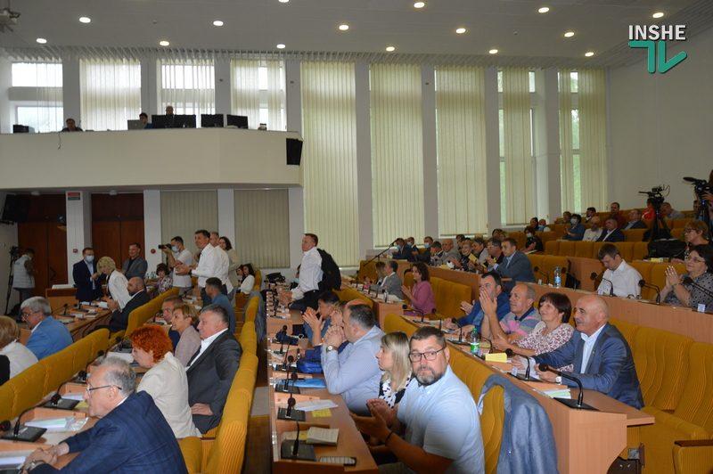 Стартовала 6-я внеочередная сессия Николаевского облсовета