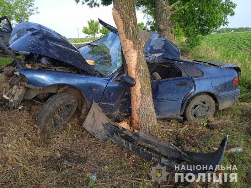 Ночное ДТП на Николаевщине – водитель Honda умер в больнице (ФОТО)