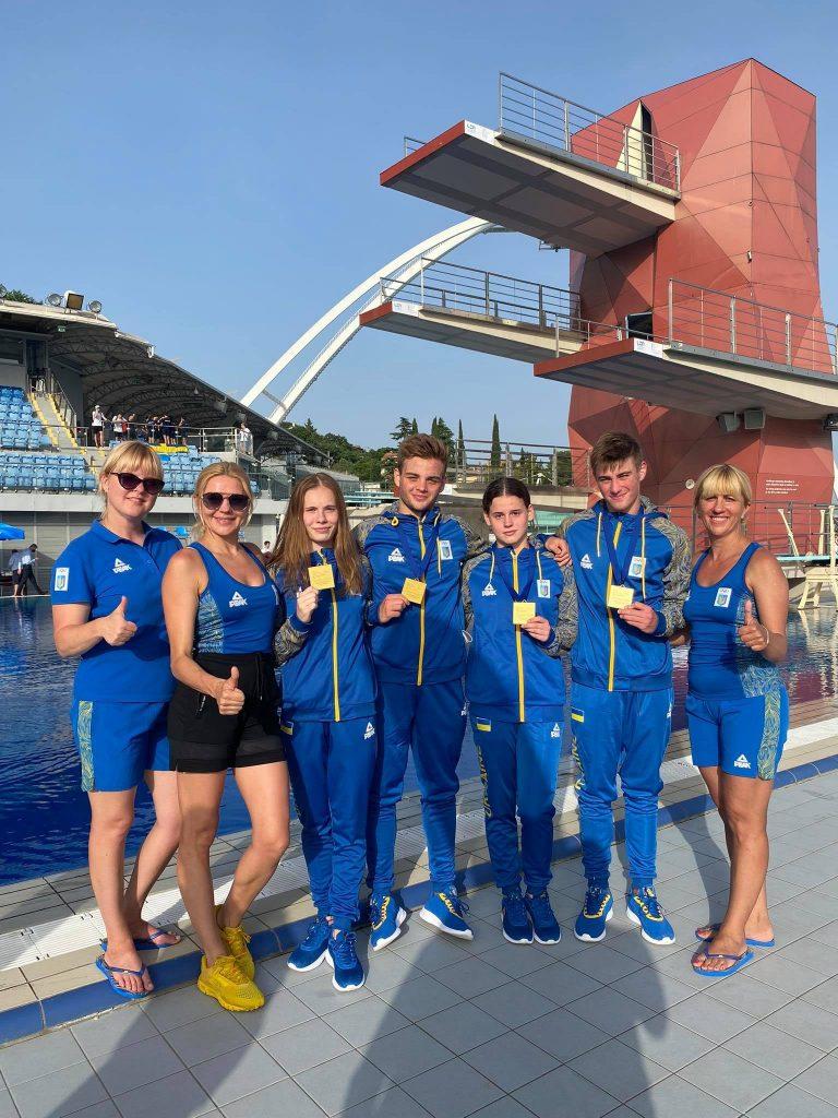 Украинская сборная благодаря николаевским прыгунам в воду взяла «золото» чемпионата Европы (ФОТО, ВИДЕО) 3