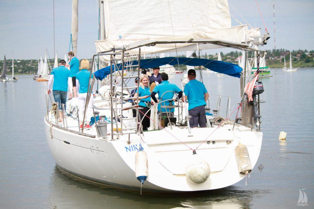 В яхтенной регате Mykolaiv River Cup определены победители. Яхта с мэром Николаева на борту - 4-я в своей группе (ФОТО) 5