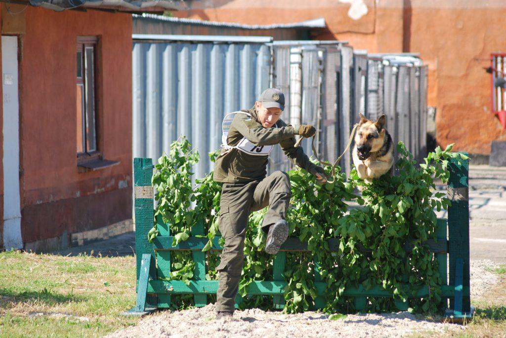В Николаеве начались соревнования гвардейских кинологов на первенство Южного ОТО (ФОТО) 5