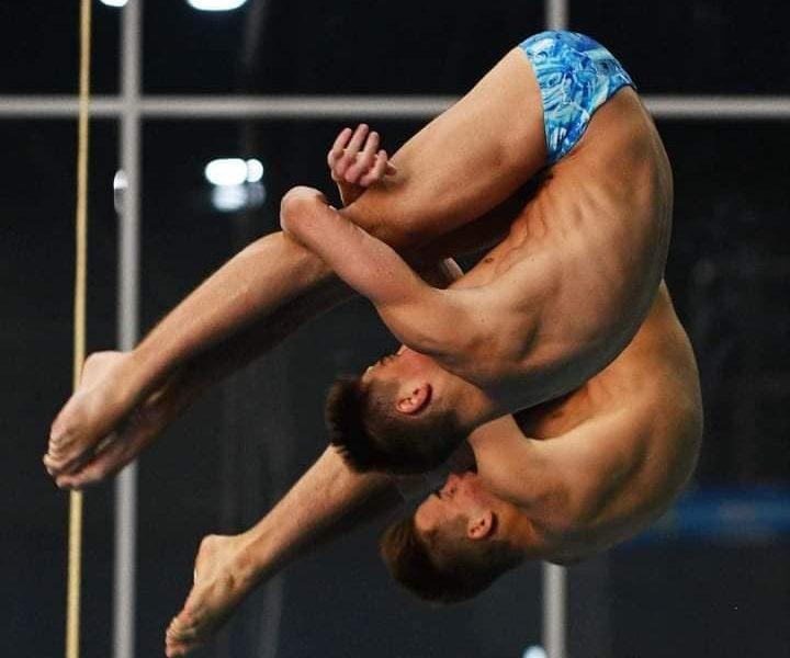 Николаевские прыгуны в воду завоевали медали чемпионата Украины (ФОТО)