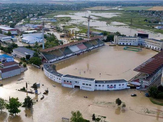 Пришла беда, откуда не ждали. В Ялте после потопа на воле оказалось около 70 крокодилов (ВИДЕО)