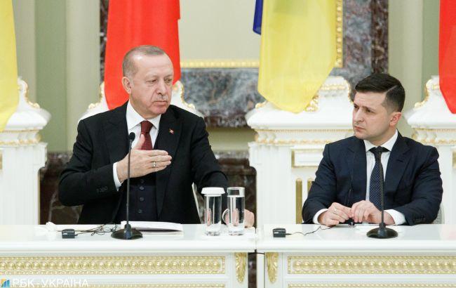 Эрдоган жаловался Зеленскому на угрозы со стороны Путина, – СМИ