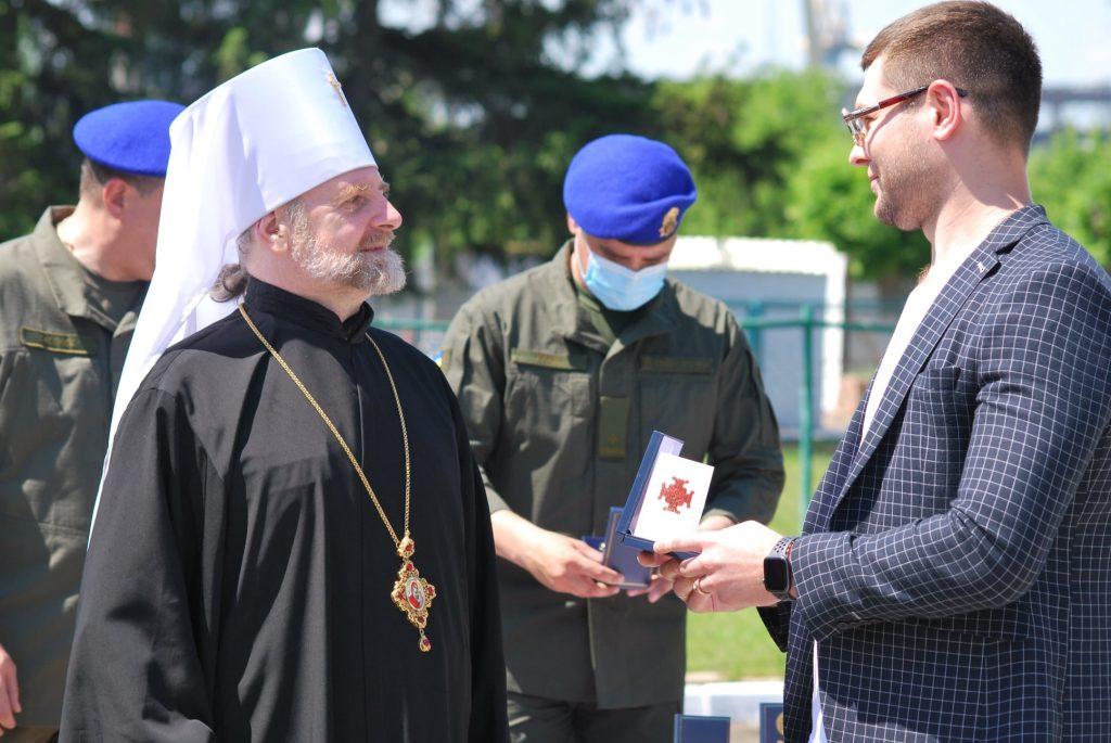 В Николаевской части Национальной гвардии Украины торжественно открыли военную часовню (ФОТО) 7