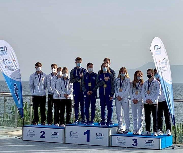 Украинская сборная благодаря николаевским прыгунам в воду взяла «золото» чемпионата Европы (ФОТО, ВИДЕО)