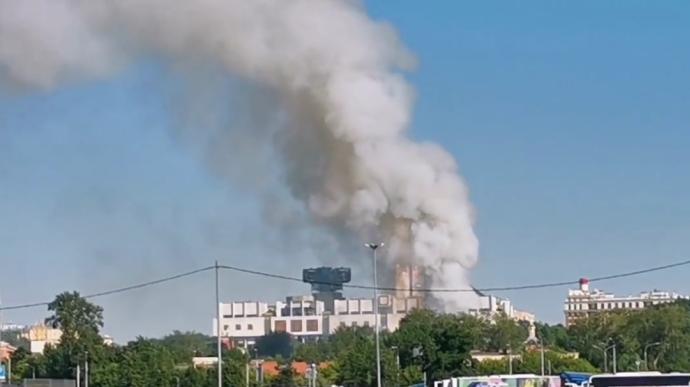 Москва горит и взрывается. Началось со склада пиротехники (ВИДЕО)