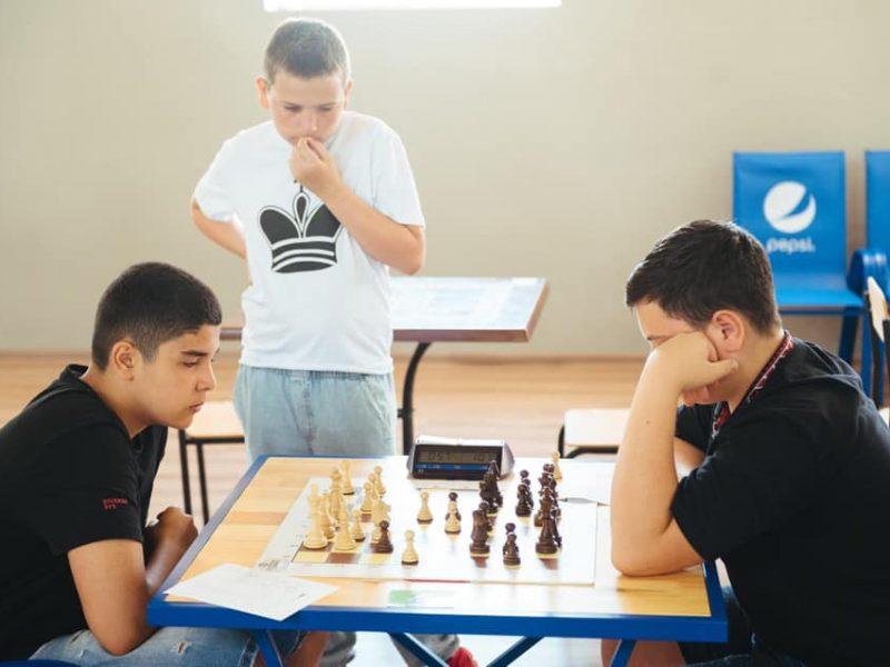В Очакове завершился Всеукраинский детский фестиваль «Шахматные надежды Украины» (ФОТО)