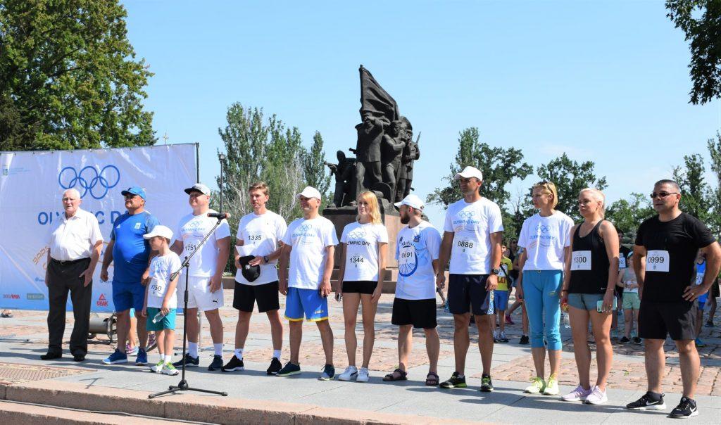 В Николаеве почти 1000 горожан приняли участие в забеге в честь «Олимпийского дня» (ФОТО) 9