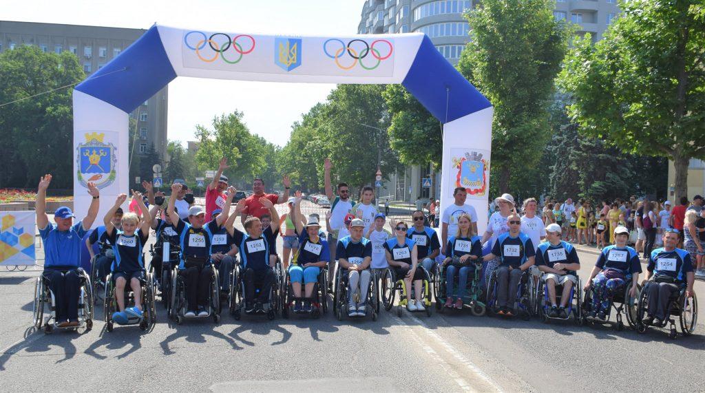 В Николаеве почти 1000 горожан приняли участие в забеге в честь «Олимпийского дня» (ФОТО) 11