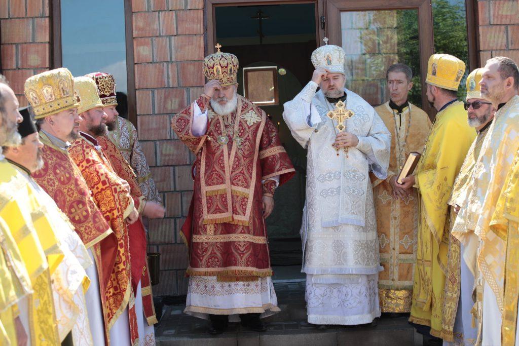 В Николаевской части Национальной гвардии Украины торжественно открыли военную часовню (ФОТО) 11