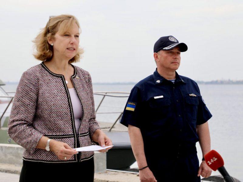 США и Украина строят в Бердянске базу пограничной морской охраны