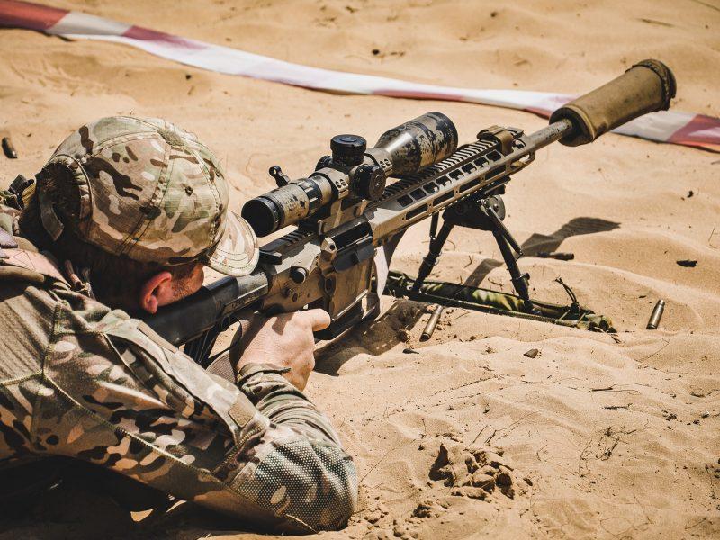 Снайперская пара Николаевской бригады морской пехоты стала лучшей среди морпехов (ФОТО)