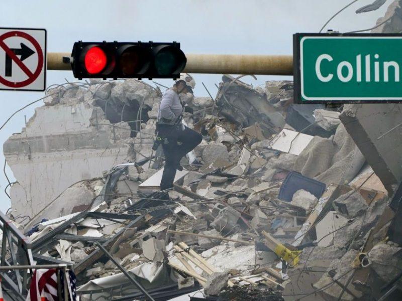 В Майами обрушился жилой дом, под завалами 99 человек (ФОТО, ВИДЕО)