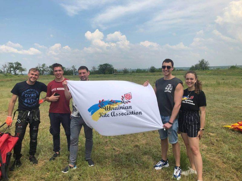 Сборная Николаевской области победила на первом Кубке Украины по кайт-флаингу 2021 (ФОТО)