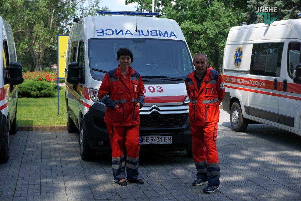 Николаевский областной центр экстренной медицины получил 6 современных реанимобилей (ФОТО) 1