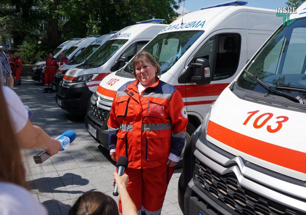 Николаевский областной центр экстренной медицины получил 6 современных реанимобилей (ФОТО) 5