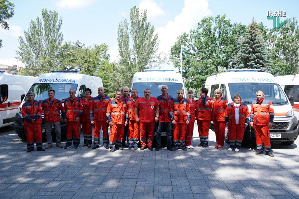 Николаевский областной центр экстренной медицины получил 6 современных реанимобилей (ФОТО) 13