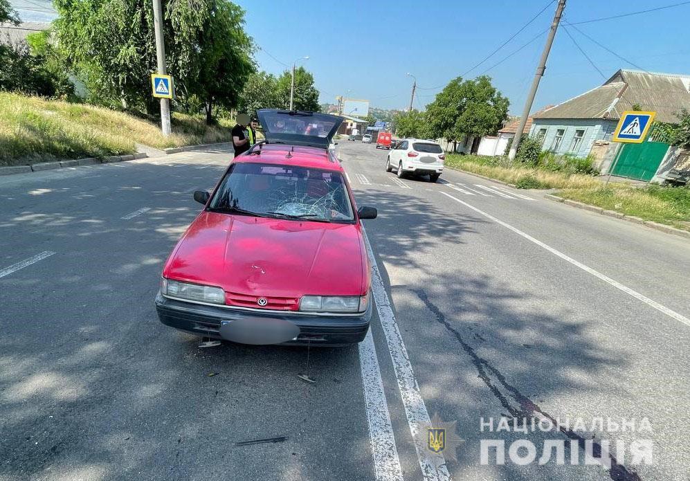 В Николаеве на Троицкой Mazda сбила женщину на переходе (ФОТО) 1