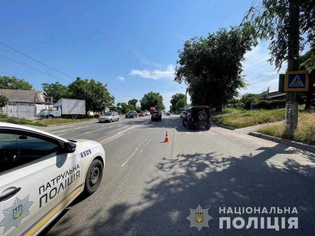 В Николаеве на Троицкой Mazda сбила женщину на переходе (ФОТО) 3