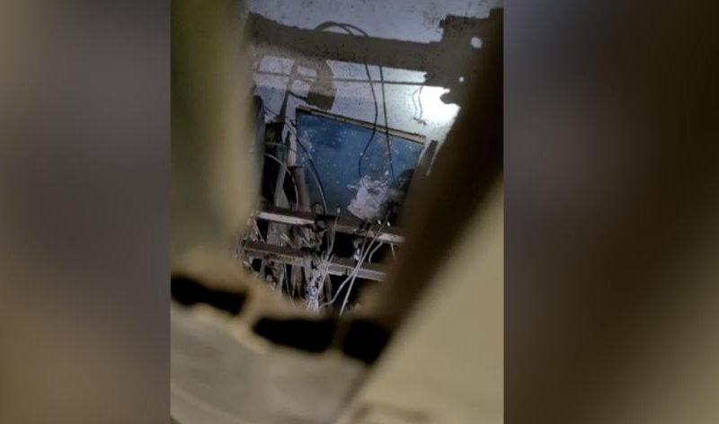 Два украинца госпитализированы в Польше – с 15-го этажа упала кабина лифта, которую они красили