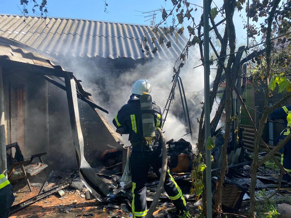 В Николаеве тушили жилой дом - причиной пожара стала неаккуратность (ФОТО) 7
