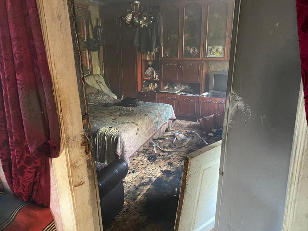 В Николаеве тушили жилой дом - причиной пожара стала неаккуратность (ФОТО) 5