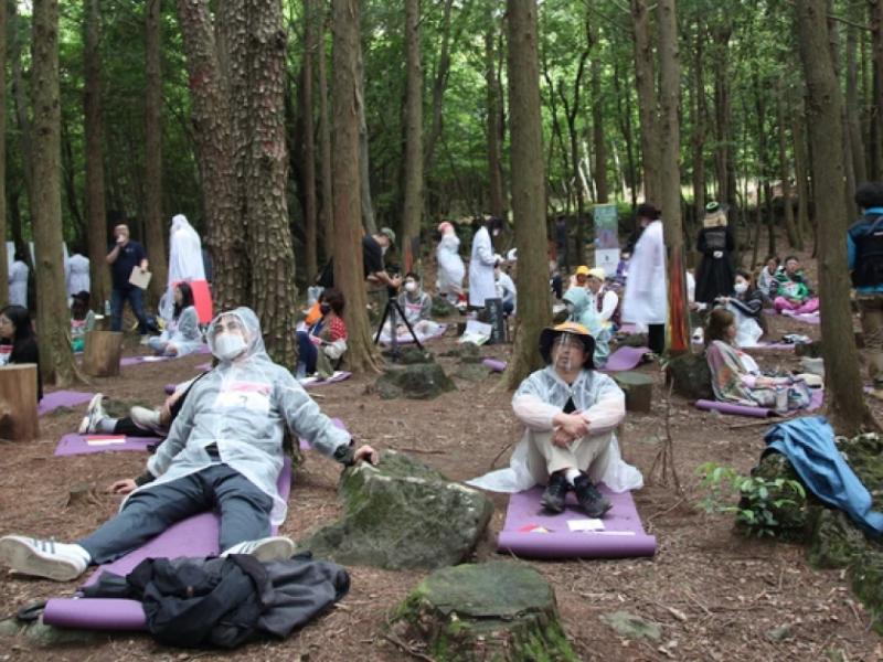 Специально для трудоголиков: в Корее проводят соревнования спокойствия