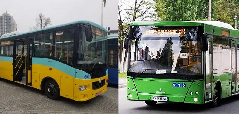 """Автобусы для Николаева за счет еврокредита: мэрии предстоит выбрать между 74 """"Эталонами"""" и 46 """"МАЗами"""""""
