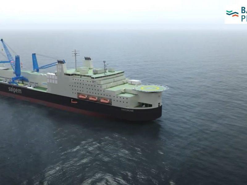В Балтийском море начали прокладку газопровода Baltic Pipe (ВИДЕО)