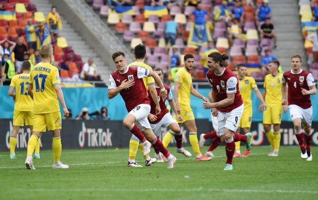 Украина проиграла Австрии и заняла третье место в группе C. Шансы выйти в плей-офф еще есть