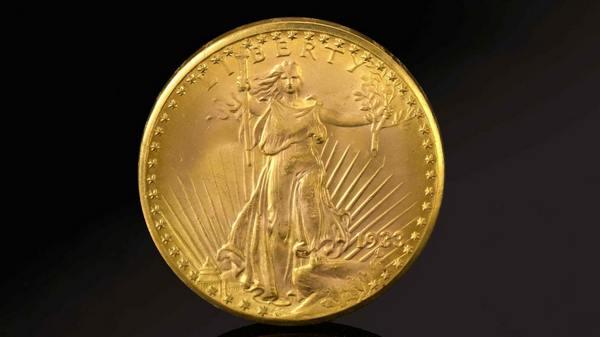 Редчайшая золотая монета продана за рекордные 19 миллионов долларов