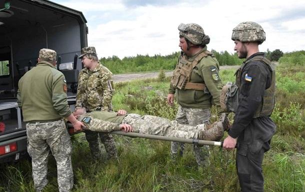 За сутки на Донбассе ранены 2 бойца ВСУ